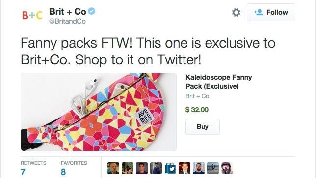 Twitter crea el botón de «Comprar» en los tuits para impulsar el «e-commerce»