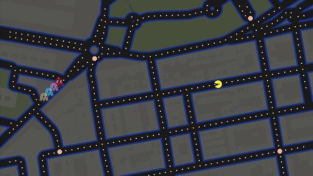 Google Maps te invita a jugar a Pac-Man