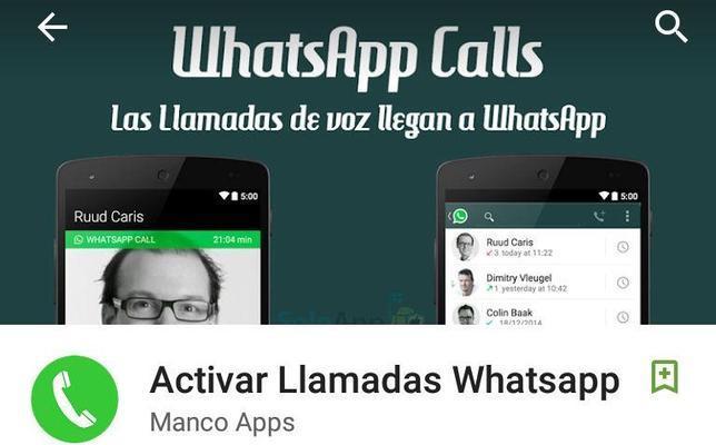 «Activar Llamadas Whatsapp», la falsa aplicación que puede costarte 40 euros al mes