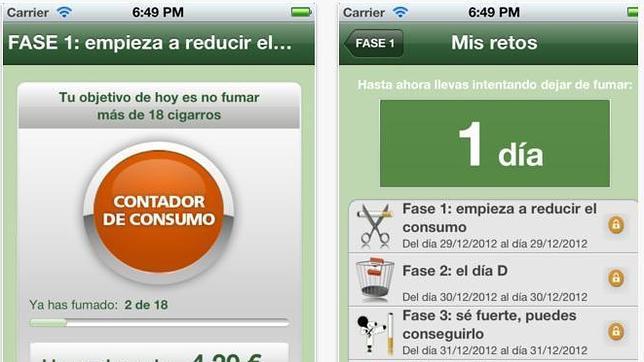 «Respirapp», una aplicación para dejar de fumar