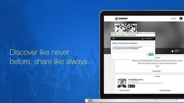 Shazam ahora se puede usar desde el Mac