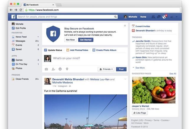 Facebook refuerza la seguridad de los usuarios con una nueva herramienta