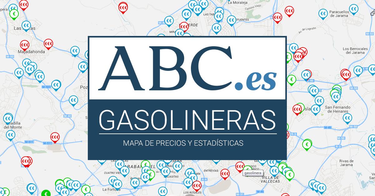 Gasolineras de toledo las m s baratas y las m s caras for Gasolina barata tenerife