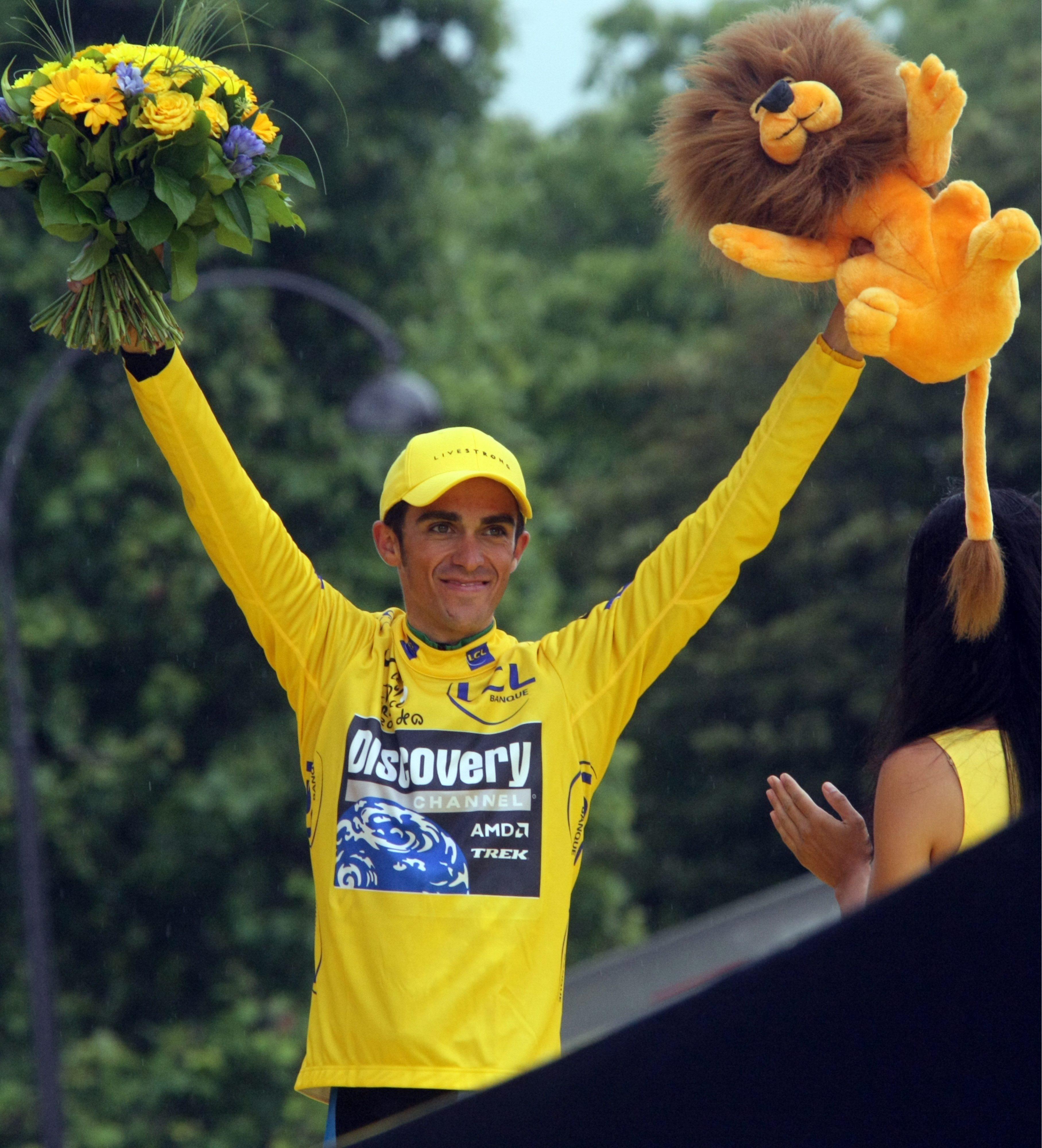 CONTADOR - - - Ganador del Tour 2010!! Contador