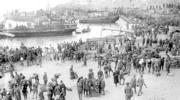 Desembarco de tropas españolas en Alhucemas, que condujo a la pacificación del protectorado marroquí