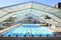 Las piscinas del mundial 86 contarn con una academia para for Piscinas publicas madrid centro