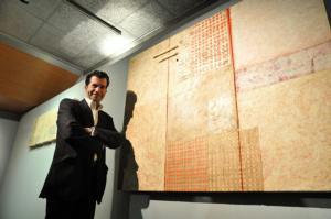 El pintor alberto romero expone transparencias en el colegio de arquitectos toledo toledo - Colegio de aparejadores de tenerife ...