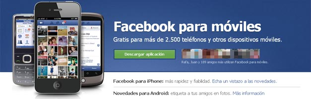 Facebook incluir publicidad en sus versiones para tablets y smartphones