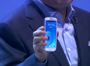 Samsung Galaxy S3 en el evento Unpacked