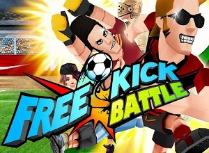 freekick battle