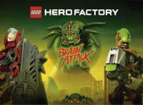 Combate los cerebros asesinos en LEGO Hero Factory: Brain Attack para Android