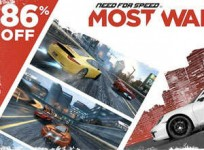 Need for Speed Most Wanted rebajado un 86% por navidad
