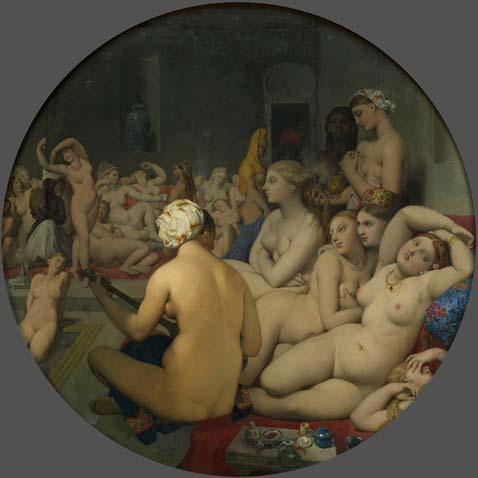 Óleo sobre lienzo adherido a tabla, 1859-1863. Museo del Louvre.