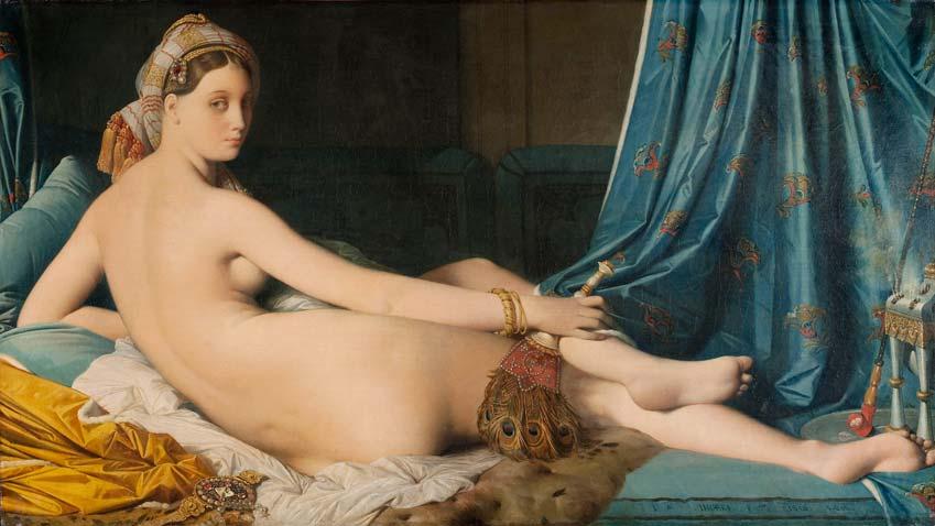 Óleo sobre lienzo, 1814. Museo del Louvre.