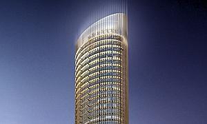 Una imagen virtual de la torre diseñada por César Pelli. ABC