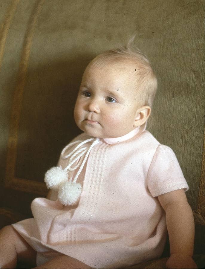 La Infanta Elena nació en Madrid el 20 de diciembre de 1963
