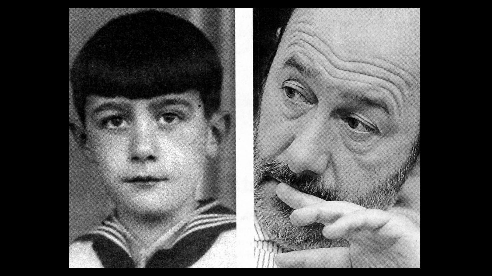 Alfredo Pérez Rubalcaba nació en Solares (Cantabria), el 28 de julio de 1951, y 23 años después, en 1974, ingresaría en el PSOE, colaborando en la Federación Socialista Madrileña. En la imagen de la izquierda, Rubalcaba, con 9 años