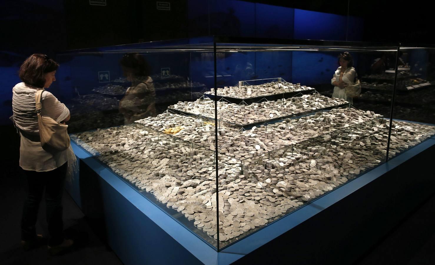 Estas fueron las monedas expoliadas, hoy expuestas en todo su contexto histórico