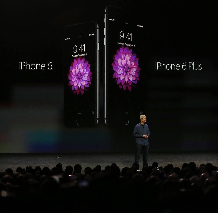 El CEO de Apple anuncia el iPhone6 y el iPhone6 Plus en un evento especial