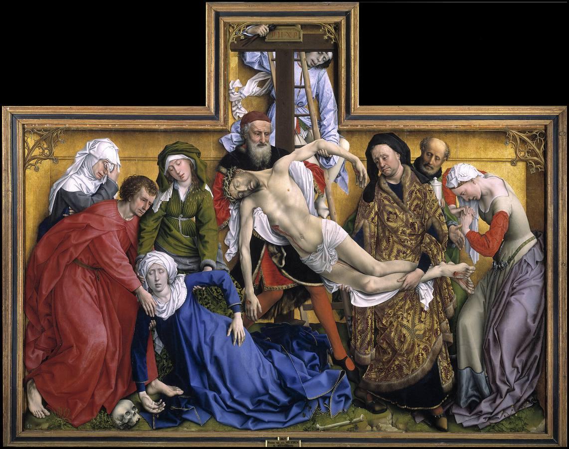 «El Descendimiento», de Rogier van der Weyden (antes de 1433)