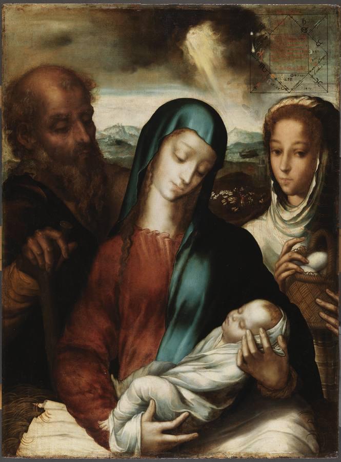 «Sagrada Familia», de Luis de Morales