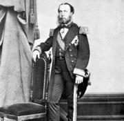 Ratrato de Maximiliano de Habsburgo cuando era emperador de México. ABC