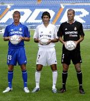 El Real Madrid presenta su nueva equipación para esta temporada ... 0d417bdf7f2dd